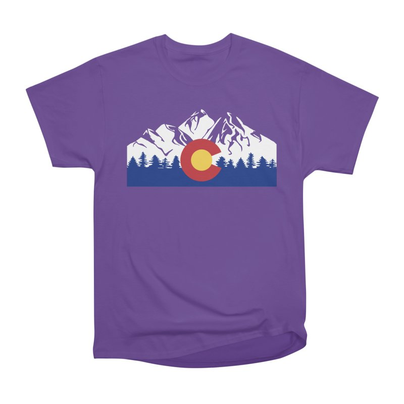 Outfitters Colorado Logo Men's Heavyweight T-Shirt by dolores outfitters's Artist Shop