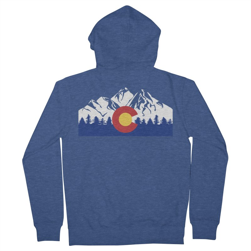 Outfitters Colorado Logo Women's French Terry Zip-Up Hoody by dolores outfitters's Artist Shop