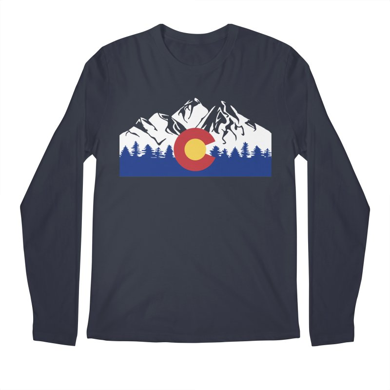 Outfitters Colorado Logo Men's Regular Longsleeve T-Shirt by dolores outfitters's Artist Shop