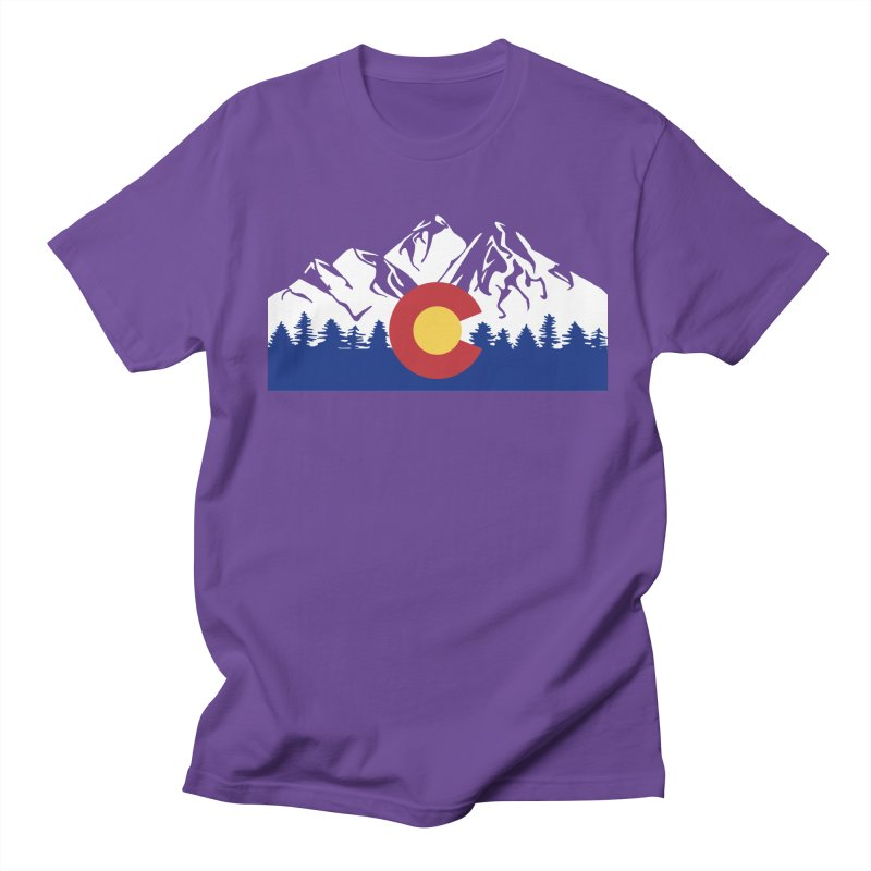 Outfitters Colorado Logo Women's Regular Unisex T-Shirt by dolores outfitters's Artist Shop