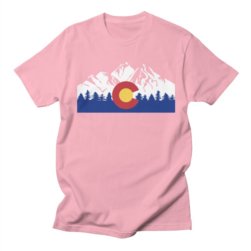 Outfitters Colorado Logo Men's Regular T-Shirt by dolores outfitters's Artist Shop