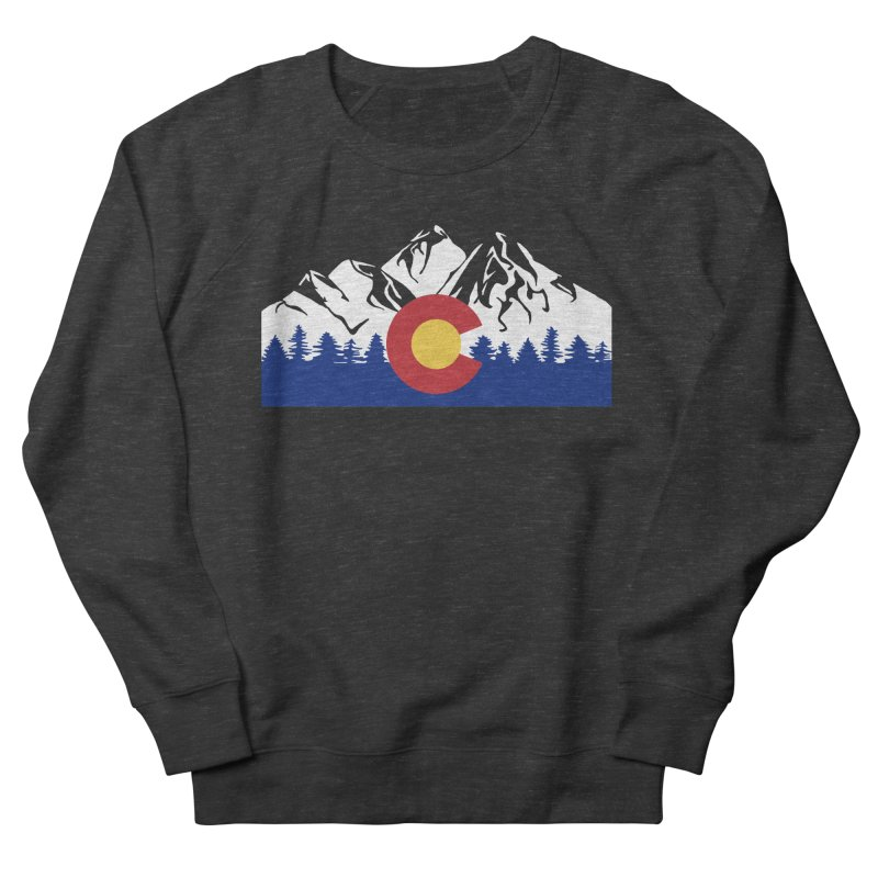 Outfitters Colorado Logo Women's French Terry Sweatshirt by dolores outfitters's Artist Shop