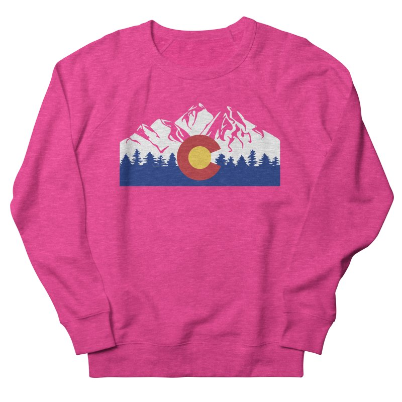 Outfitters Colorado Logo Men's French Terry Sweatshirt by dolores outfitters's Artist Shop