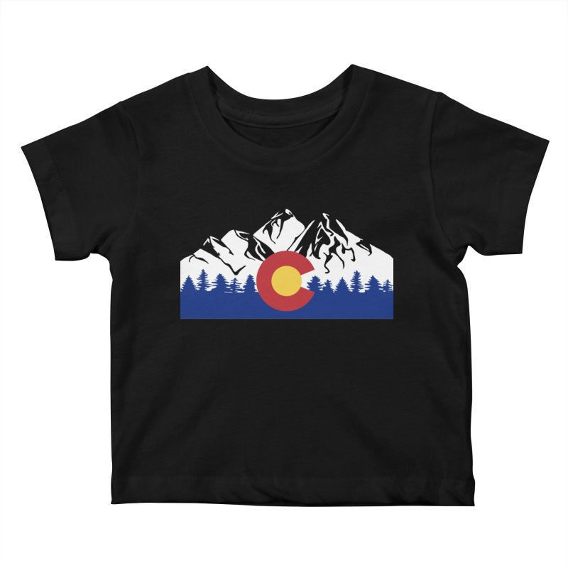 Outfitters Colorado Logo Kids Baby T-Shirt by dolores outfitters's Artist Shop