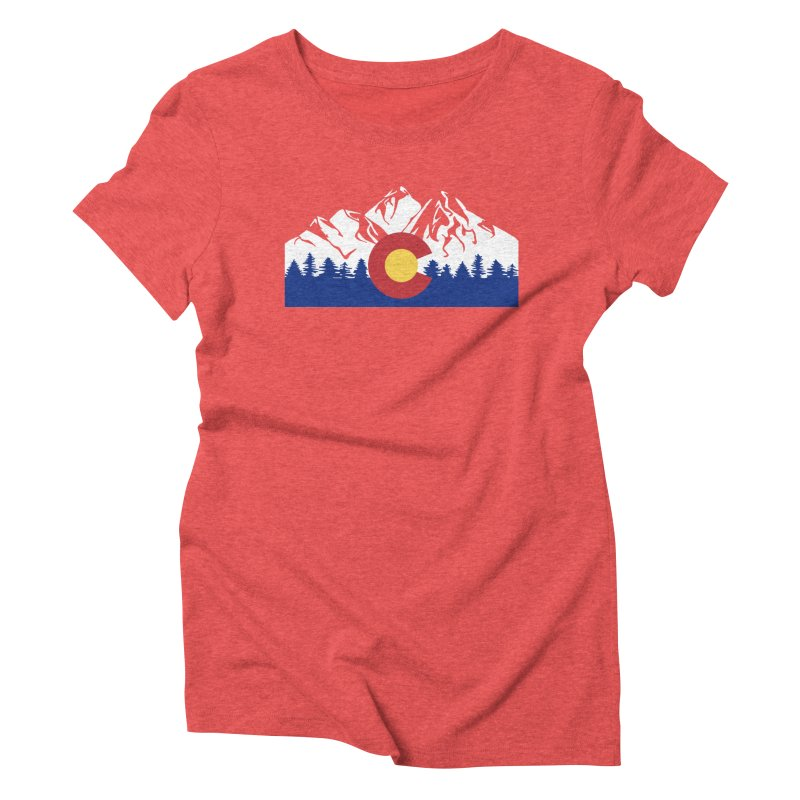 Outfitters Colorado Logo Women's Triblend T-Shirt by dolores outfitters's Artist Shop