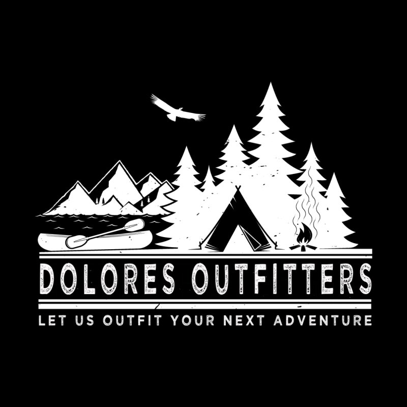 Outfitters Camp Men's T-Shirt by dolores outfitters's Artist Shop