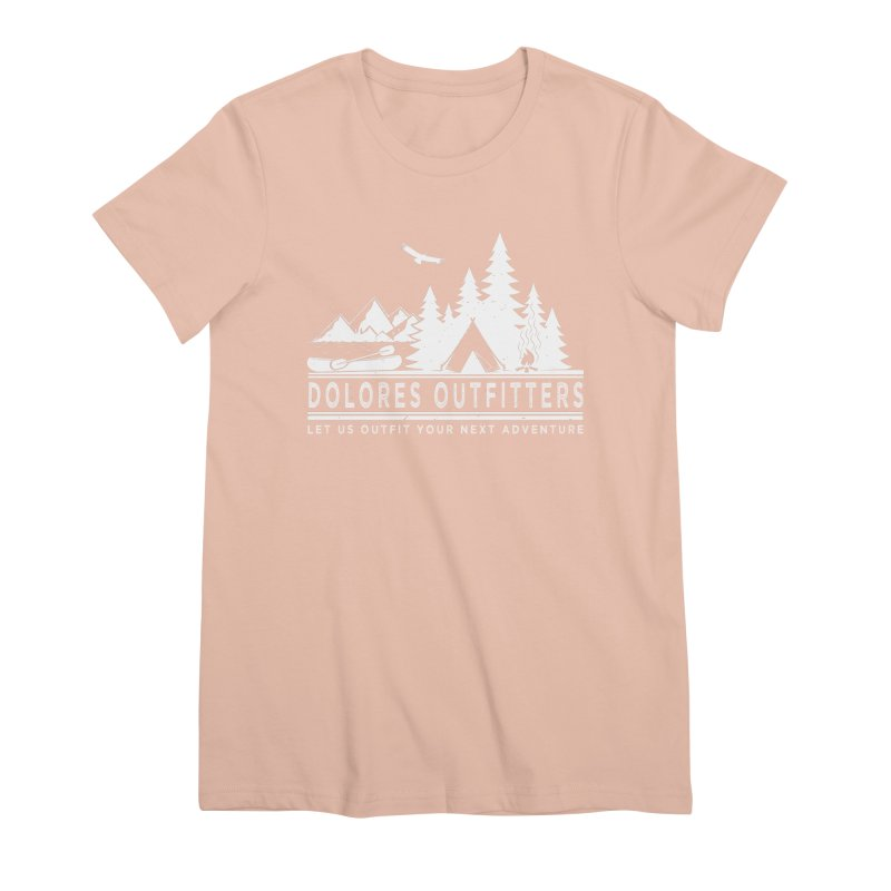 Outfitters Camp Women's Premium T-Shirt by dolores outfitters's Artist Shop