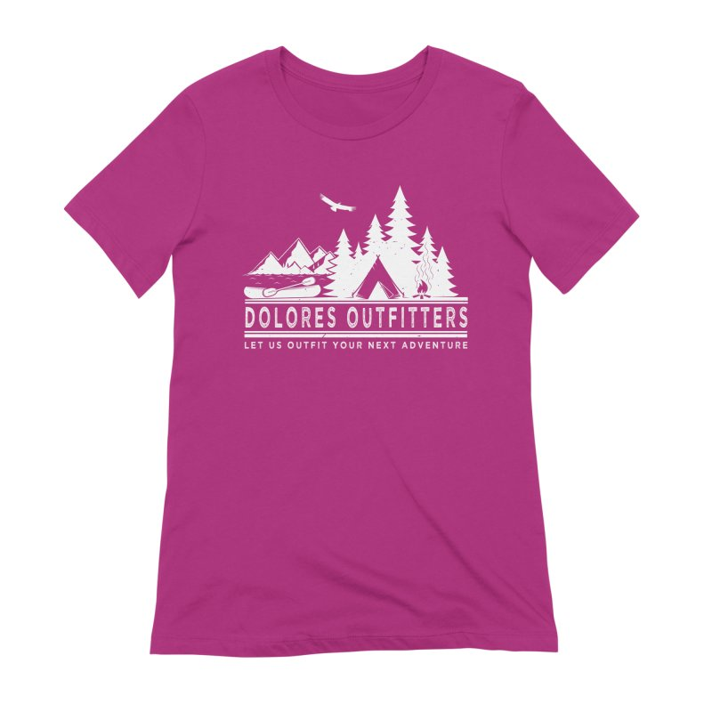 Outfitters Camp Women's Extra Soft T-Shirt by dolores outfitters's Artist Shop