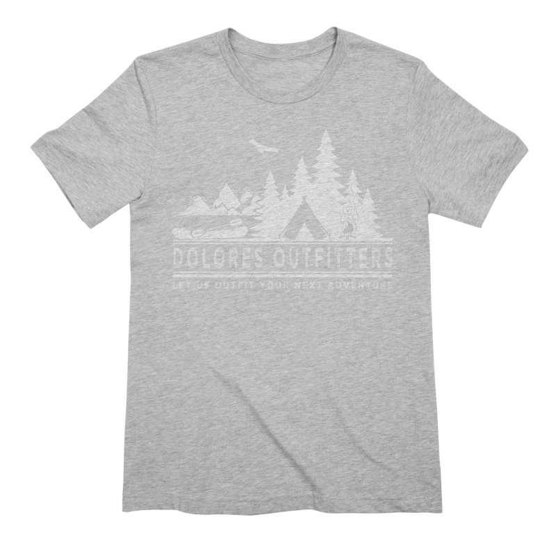 Outfitters Camp Men's Extra Soft T-Shirt by dolores outfitters's Artist Shop