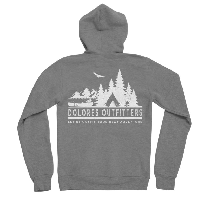 Outfitters Camp Men's Sponge Fleece Zip-Up Hoody by dolores outfitters's Artist Shop