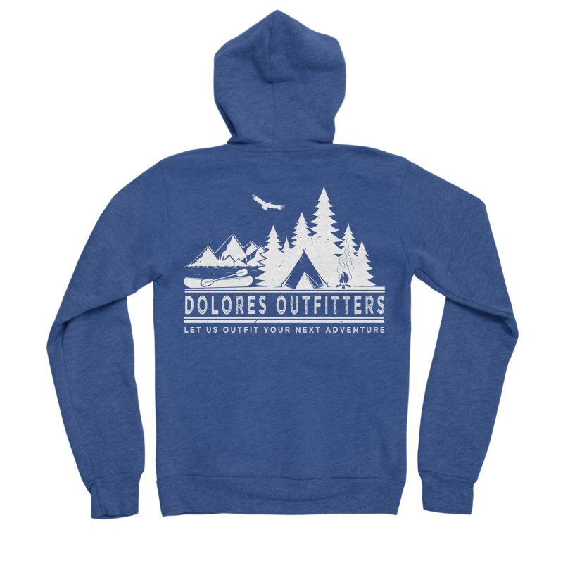 Outfitters Camp Women's Sponge Fleece Zip-Up Hoody by dolores outfitters's Artist Shop