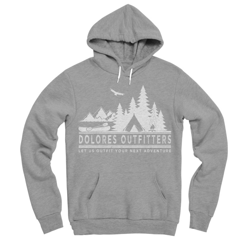 Outfitters Camp Men's Sponge Fleece Pullover Hoody by dolores outfitters's Artist Shop