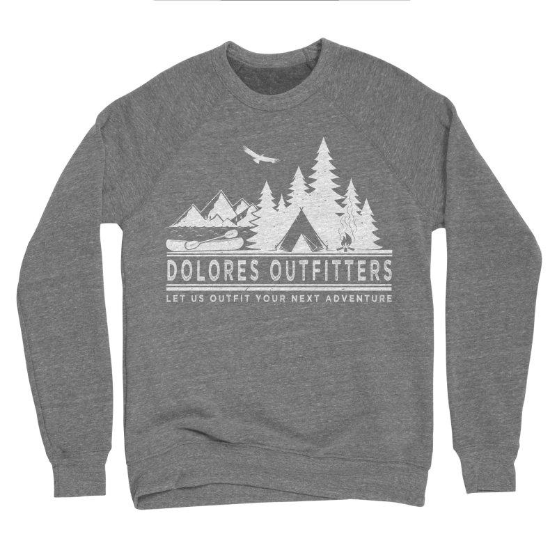 Outfitters Camp Men's Sponge Fleece Sweatshirt by dolores outfitters's Artist Shop