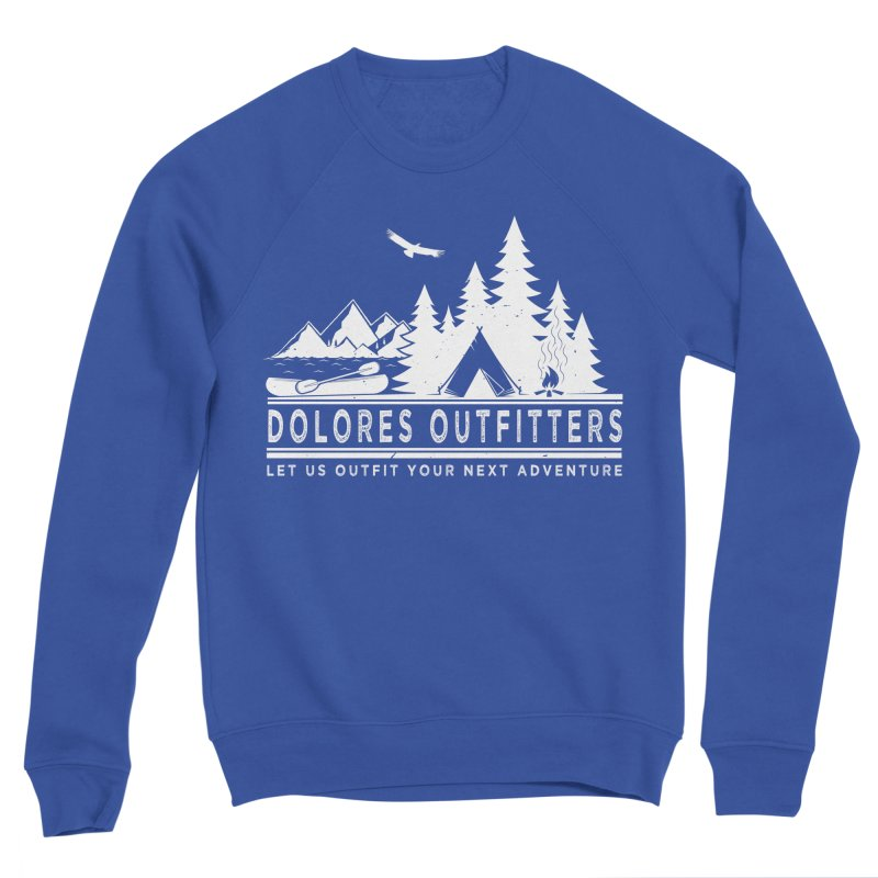 Outfitters Camp Women's Sponge Fleece Sweatshirt by dolores outfitters's Artist Shop