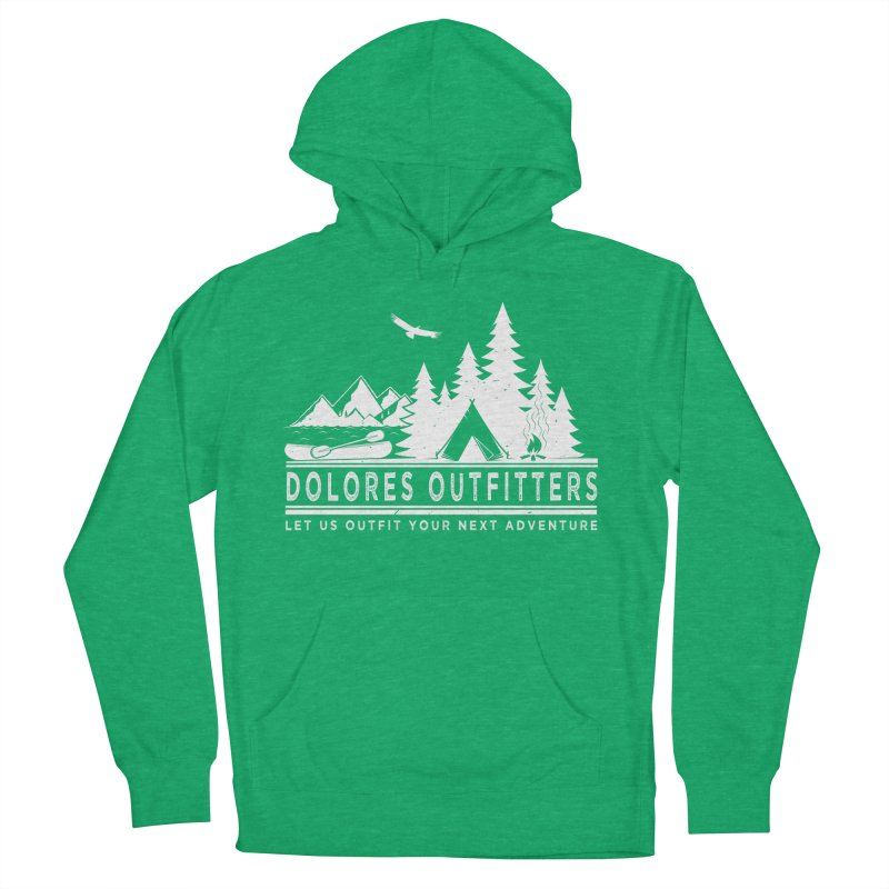 Outfitters Camp Women's French Terry Pullover Hoody by dolores outfitters's Artist Shop