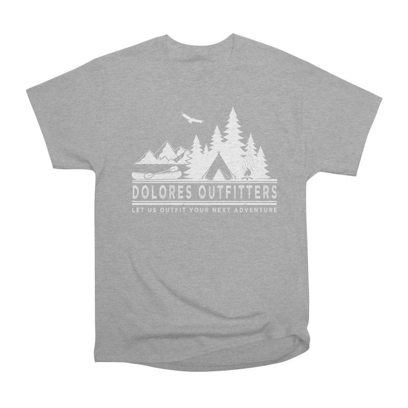 Outfitters Camp Men's Heavyweight T-Shirt by dolores outfitters's Artist Shop