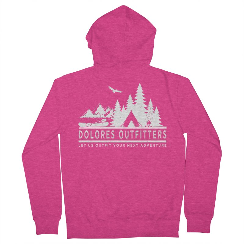 Outfitters Camp Women's French Terry Zip-Up Hoody by dolores outfitters's Artist Shop