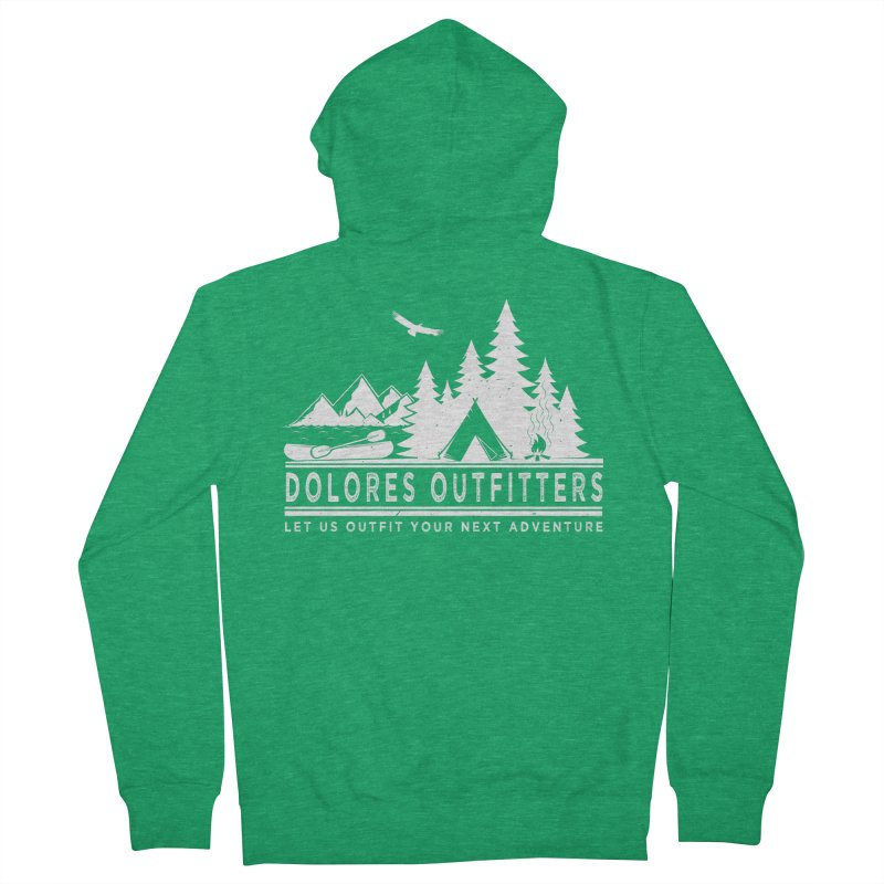 Outfitters Camp Men's Zip-Up Hoody by dolores outfitters's Artist Shop
