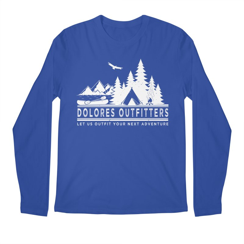 Outfitters Camp Men's Regular Longsleeve T-Shirt by dolores outfitters's Artist Shop