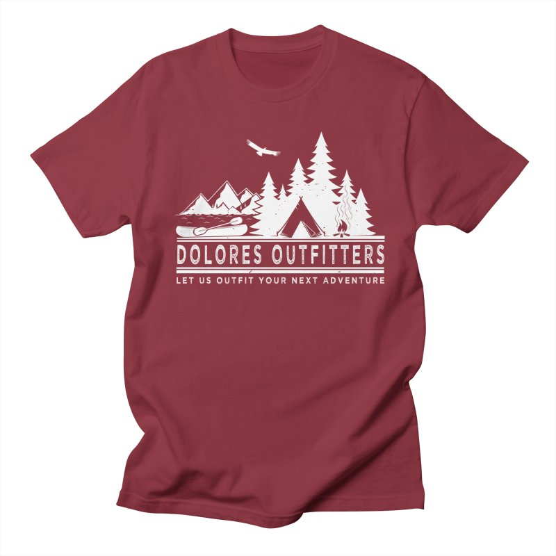 Outfitters Camp Men's Regular T-Shirt by dolores outfitters's Artist Shop