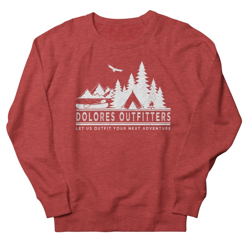 Outfitters Camp Women's French Terry Sweatshirt by dolores outfitters's Artist Shop