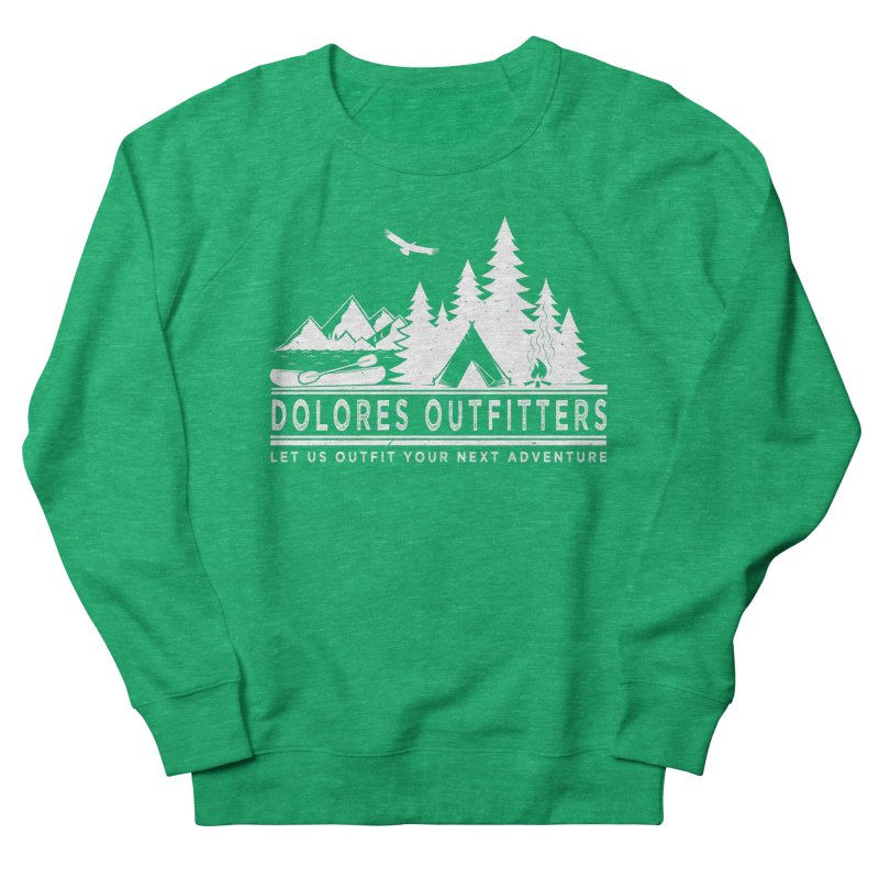 Outfitters Camp Men's French Terry Sweatshirt by dolores outfitters's Artist Shop