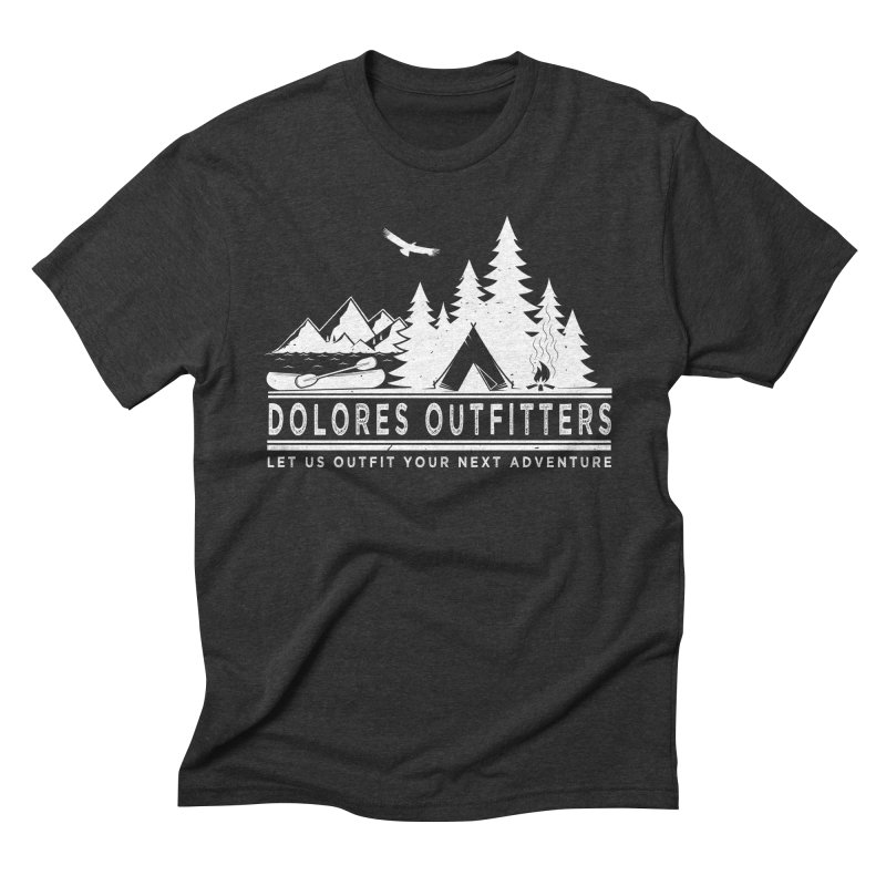 Outfitters Camp Men's Triblend T-Shirt by dolores outfitters's Artist Shop