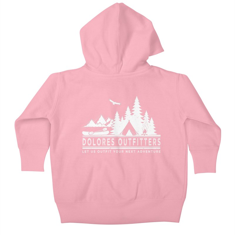 Outfitters Camp Kids Baby Zip-Up Hoody by dolores outfitters's Artist Shop