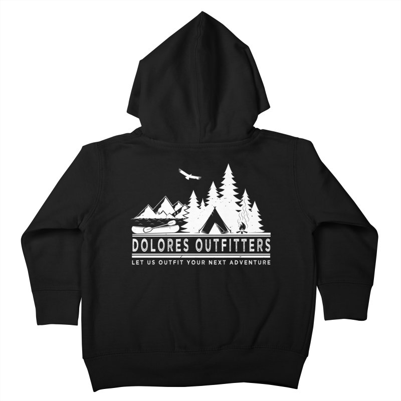 Outfitters Camp Kids Toddler Zip-Up Hoody by dolores outfitters's Artist Shop