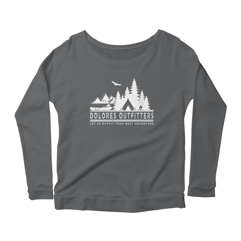 Outfitters Camp Women's Scoop Neck Longsleeve T-Shirt by dolores outfitters's Artist Shop