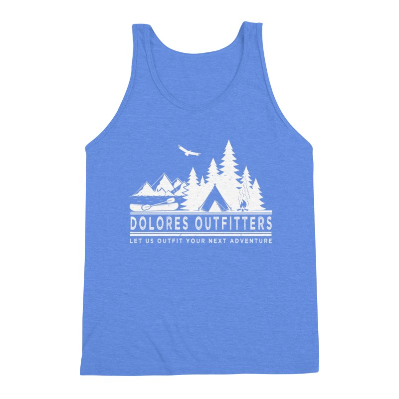 Outfitters Camp Men's Triblend Tank by dolores outfitters's Artist Shop