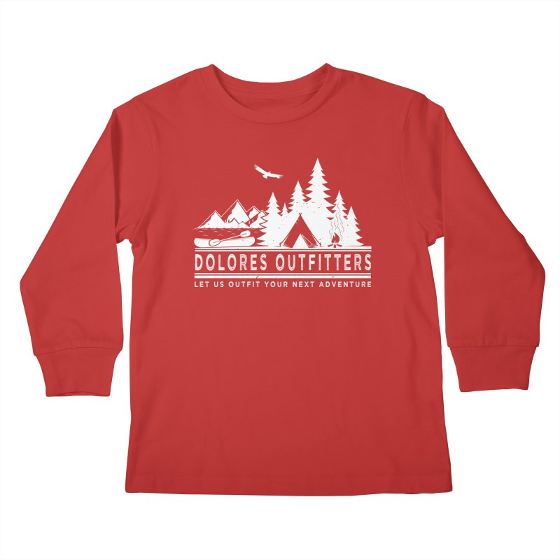 Outfitters Camp Kids Longsleeve T-Shirt by dolores outfitters's Artist Shop