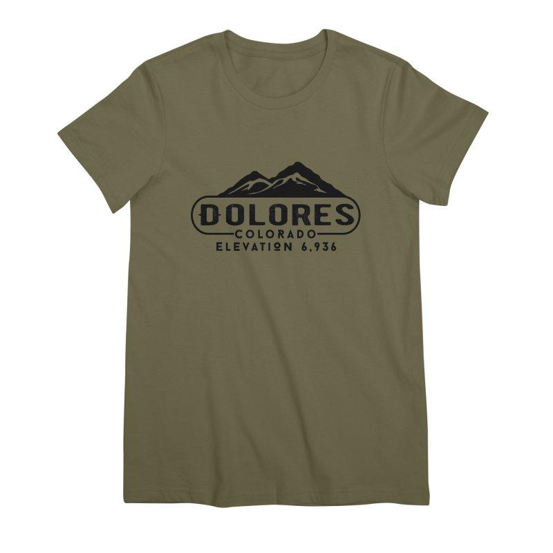 Dolores Colorado Women's Premium T-Shirt by dolores outfitters's Artist Shop