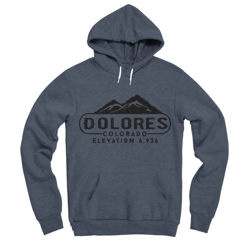 Dolores Colorado Men's Sponge Fleece Pullover Hoody by dolores outfitters's Artist Shop