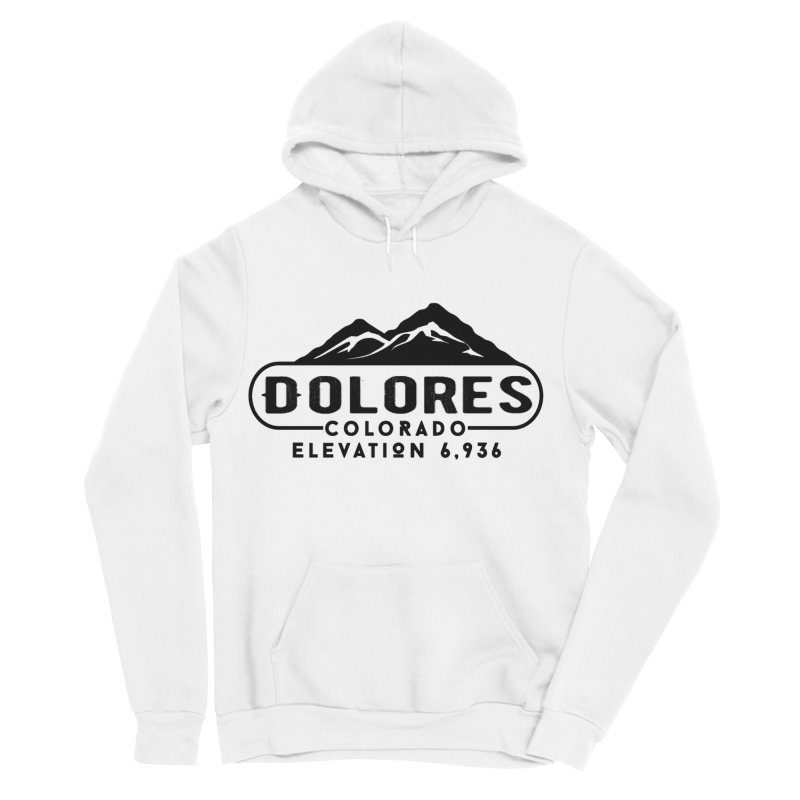 Dolores Colorado Men's Sponge Fleece Pullover Hoody by dolores outfitters's Artist Shop