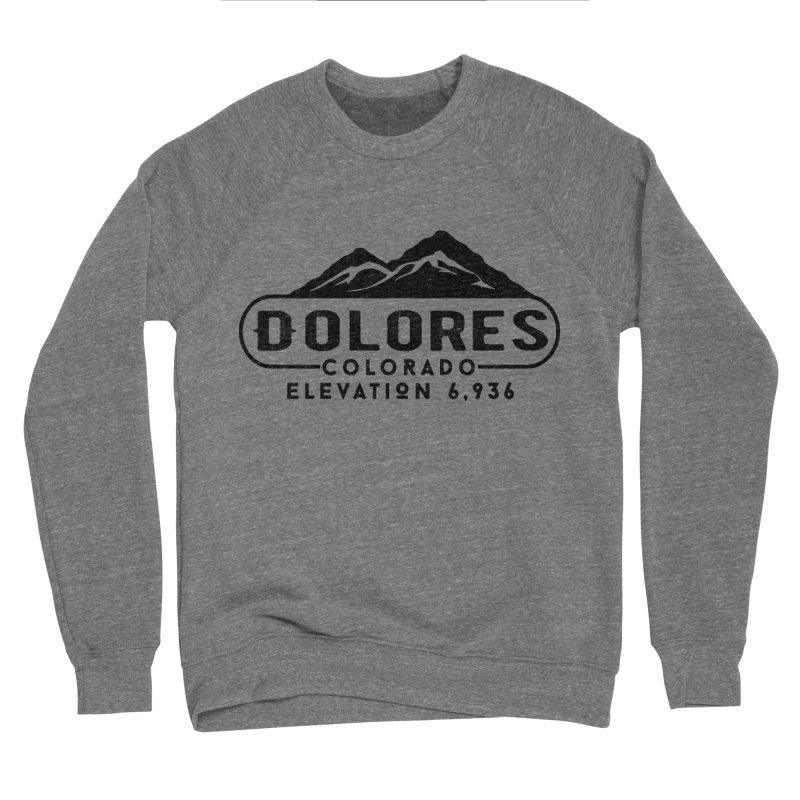 Dolores Colorado Men's Sponge Fleece Sweatshirt by dolores outfitters's Artist Shop