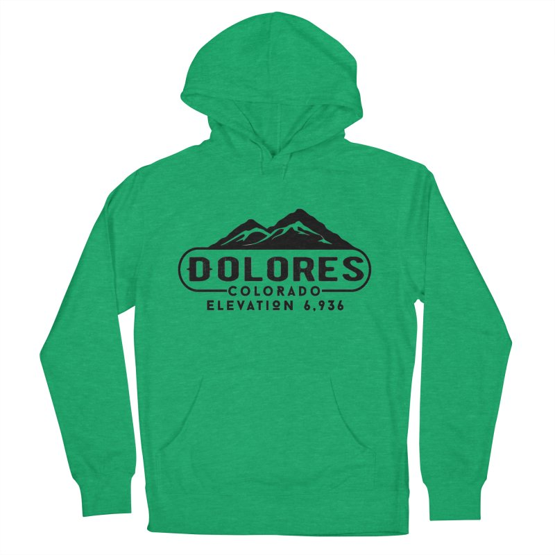 Dolores Colorado Men's French Terry Pullover Hoody by dolores outfitters's Artist Shop