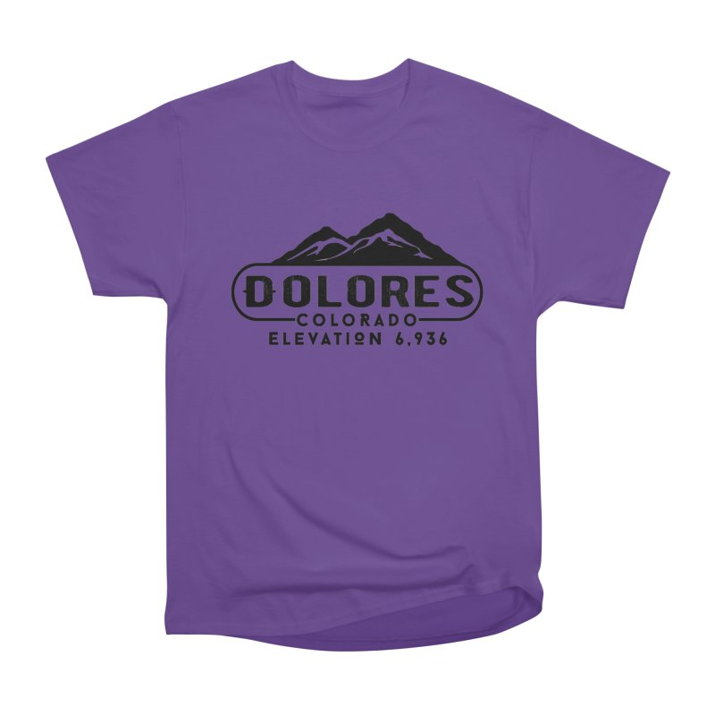 Dolores Colorado Men's Heavyweight T-Shirt by dolores outfitters's Artist Shop