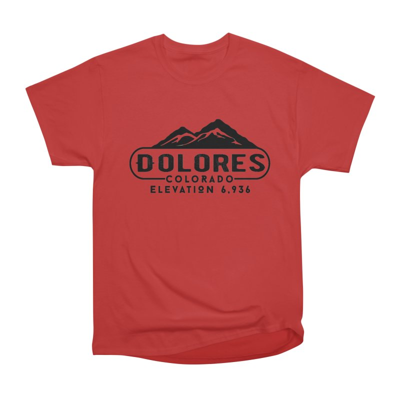 Dolores Colorado Women's Heavyweight Unisex T-Shirt by dolores outfitters's Artist Shop