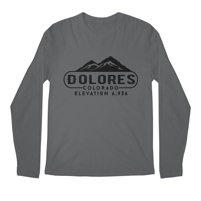 Dolores Colorado Men's Longsleeve T-Shirt by dolores outfitters's Artist Shop