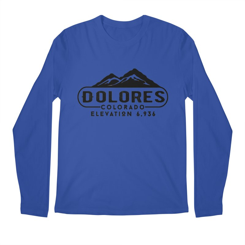 Dolores Colorado Men's Regular Longsleeve T-Shirt by dolores outfitters's Artist Shop