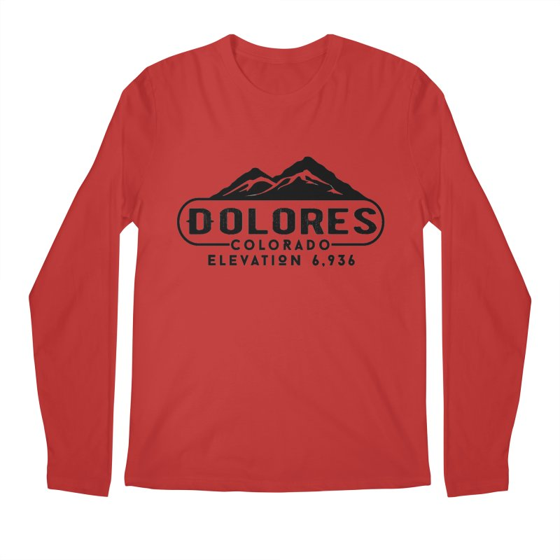 Dolores Colorado Men's Regular Longsleeve T-Shirt by dolores outfitters's Artist Shop