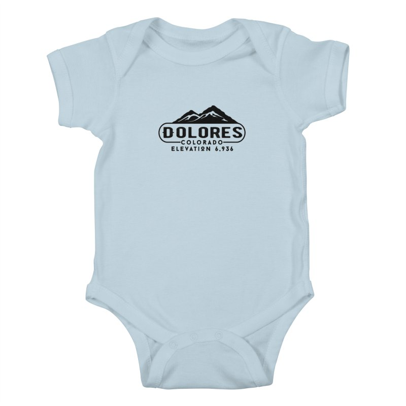 Dolores Colorado Kids Baby Bodysuit by dolores outfitters's Artist Shop