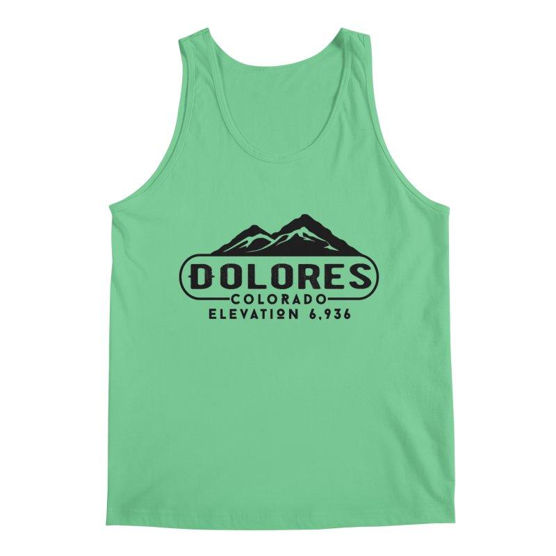 Dolores Colorado Men's Tank by dolores outfitters's Artist Shop
