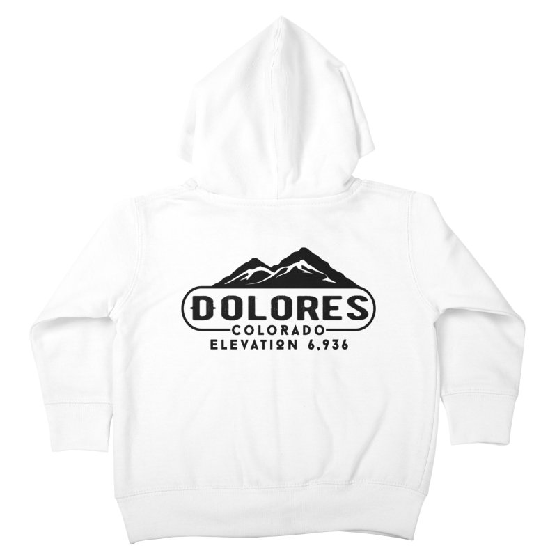 Dolores Colorado Kids Toddler Zip-Up Hoody by dolores outfitters's Artist Shop