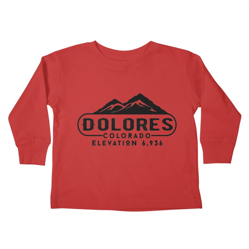 Dolores Colorado Kids Toddler Longsleeve T-Shirt by dolores outfitters's Artist Shop