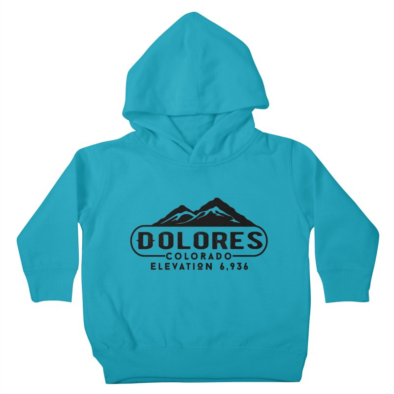 Dolores Colorado Kids Toddler Pullover Hoody by dolores outfitters's Artist Shop