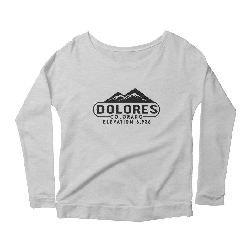 Dolores Colorado Women's Scoop Neck Longsleeve T-Shirt by dolores outfitters's Artist Shop