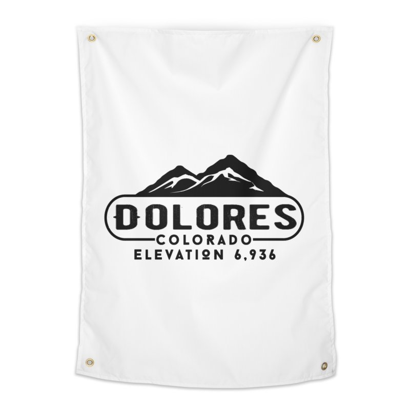 Dolores Colorado Home Tapestry by dolores outfitters's Artist Shop