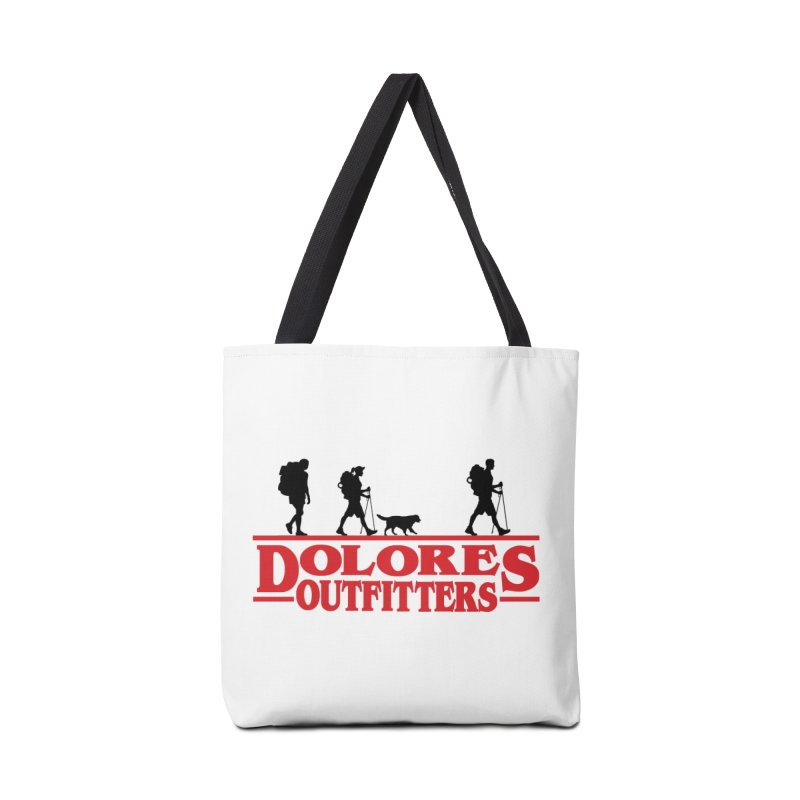 Strange Hike Accessories Tote Bag Bag by dolores outfitters's Artist Shop